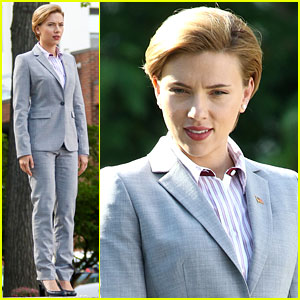 Scarlett Johansson Begins Filming 'Rock That Body'!