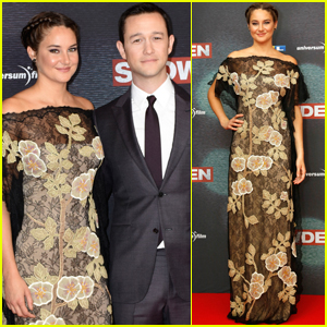 Shailene Woodley & Joseph Gordon Levitt Premiere 'Snowden' in Germany