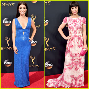 Shiri Appleby & Constance Zimmer Support 'UnREAL' at Emmys 2016