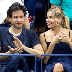 Sienna Miller & Bennett Miller Couple Up at U.S. Open Finals!