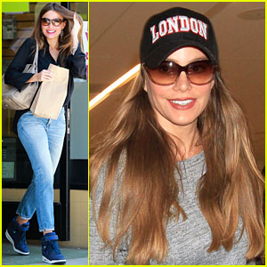 Sofia Vergara & Joe Manganiello Share Sweet Selfie at Afternoon Tea