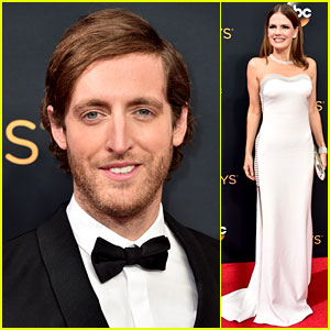 Thomas Middleditch & 'Silicon Valley' Cast Hit Up Emmys 2016
