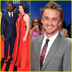 Tom Felton & David Oyelowo Premiere 'A United Kingdom' at TIFF 2016