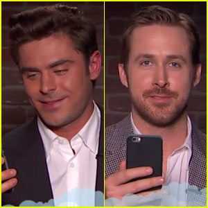 Zac Efron & Ryan Gosling Read 'Mean Tweets' - Watch Now!