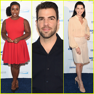Zachary Quinto, Uzo Aduba & More Lend Support At 9/12 Annual Charity Day!