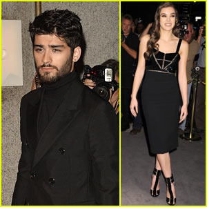 Zayn Malik, Hailee Steinfeld, & Nicola Peltz Turn Heads While Arriving at Tom Ford's Fashion Show