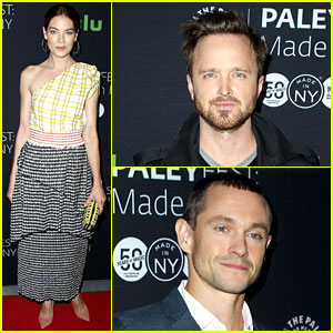 Aaron Paul & Michelle Monaghan Promote 'The Path' at PaleyFest
