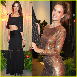 Alessandra Ambrosio Celebrates Launch of 'Ale by Alessandra X Revolve!'