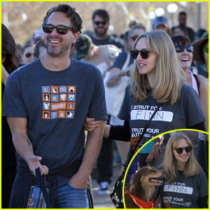 Amanda Seyfried 'Struts Her Mutt' Finn With Thomas Sadoski!