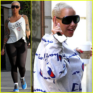Amber Rose Reveals She is Definitely a Hillary Clinton Supporter
