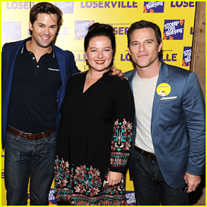 Andrew Rannells & Mike Doyle Help Stomp Out Bullying At 'Loserville' Premiere!