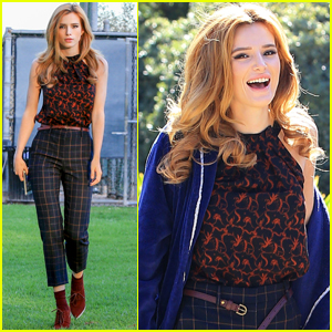 Bella Thorne Poses In Boyfriend Tyler Posey's Underwear!
