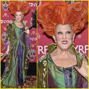 Bette Midler Dresses Up as Her 'Hocus Pocus' Character For Halloween!