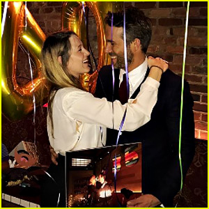 Blake Lively Celebrates Ryan Reynolds' 40th Birthday Where They Fell in Love!