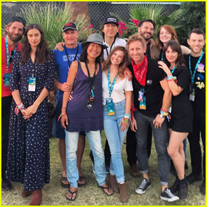 Bradley Cooper & Irina Shayk Hang Out with Emma Stone at Desert Trip!
