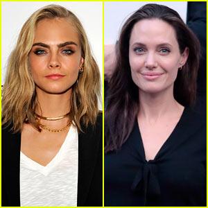 Cara Delevingne Praises Angelina Jolie's Strength