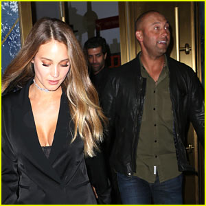 Derek & Hannah Jeter Make Rare Outing in NYC