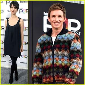 Eddie Redmayne & Katherine Waterston Bring 'Fantastic Beasts' to EW PopFest