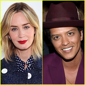 Emily Blunt to Host 'SNL' with Bruno Mars as Musical Guest!