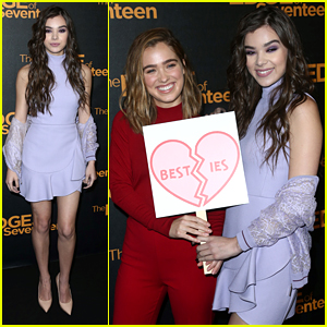 Hailee Steinfeld Hits 'Edge of Seventeen' Photo Call After New Clip Debuts