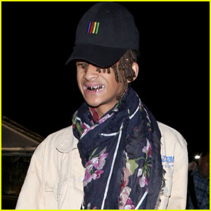 Jaden Smith Sports a Serious Grill at Kanye West's Concert