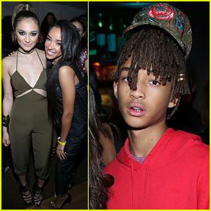Jaden Smith Steps Out to Support Nylon's October It Girl Tinashe