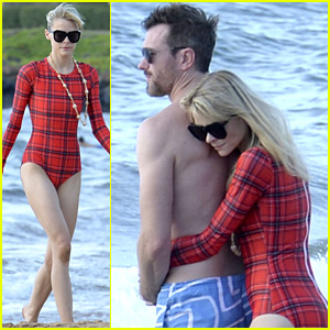 Jaime King Shares Tender Beach Moment with Husband Kyle Newman