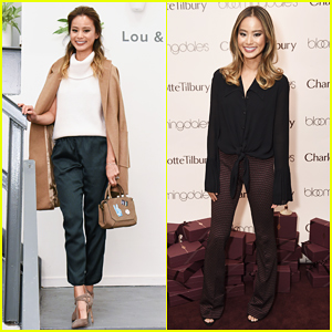 Jamie Chung Celebrates Lou & Grey NYC Opening​ & Charlotte Tilbury Beauty Launch!
