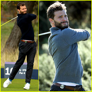 Jamie Dornan Competes in Annual Golf Tournament in Scotland!