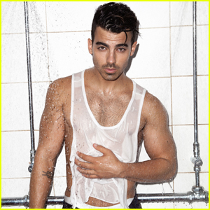 Joe Jonas Gets in the Shower With 'Notion Magazine'