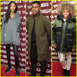 John Boyega, Jourdan Dunn, & Fleur East Attend Launch of 2016 Fright Nights!