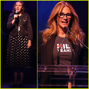 Julia Roberts Drops the F-Word for a Good Cause at Hillary Clinton's Broadway Fundraiser