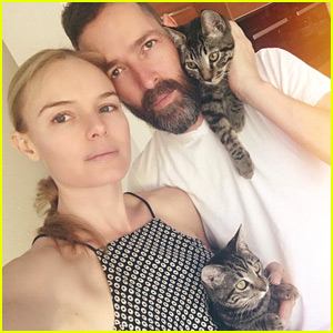 Kate Bosworth Shares a 'Sunday Selfie' with Her Husband!