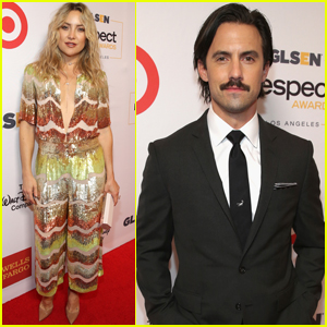 Kate Hudson & Milo Ventimiglia Step Out at the GLSEN Respect Awards