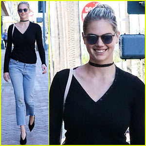 Kate Upton Switches Places With Her Dog in Latest Workout Video!