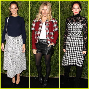 Katie Holmes, Sienna Miller, & Ruth Wilson Help Chanel Celebrate Women Filmmakers