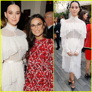 Katy Perry & Demi Moore Get Stylish at CFDA/Vogue's Fashion Fund Event