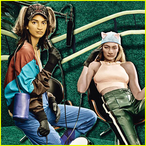 Kendall Jenner & Gigi Hadid Transformed Into 'Placebo Pets' for 'W' Magazine