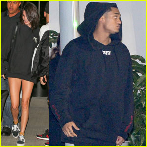 Kendall Jenner & Rumored Beau Jordan Clarkson Couple Up for Kanye West's L.A. Concert