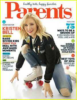 Kristen Bell Covers 'Parents' November 2016