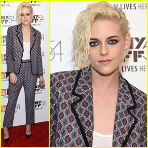Kristen Stewart Hits New York Film Festival For 'An Evening With' Event