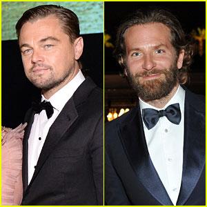 Leonardo DiCaprio & Bradley Cooper Are So Suave for LACMA Gala