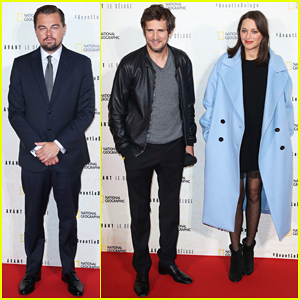 Leonardo DiCaprio Gets Support from Marion Cotillard At 'Before The Flood' Paris Premiere - Watch Official Trailer!
