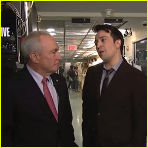 Lin-Manuel Miranda's 'SNL' Opening Monologue Features Lorne Michaels Asking for 'Hamilton' Tickets - Watch!