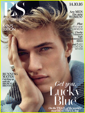 Lucky Blue Smith Opens Up About Girlfriend Stormi Bree