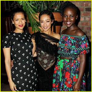 Lupita Nyong'o & Gugu Mbatha-Raw Celebrate Loving's Ruth Negga at NYC Premiere!