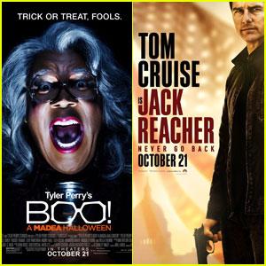 'Boo! A Madea Halloween' Beats 'Jack Reacher 2' at Box Office