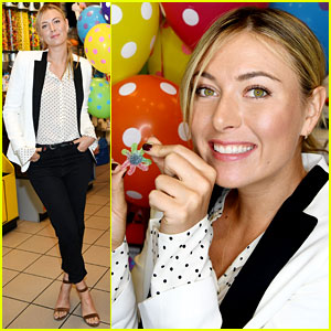 Maria Sharapova Introduces Spooky Sugarpova Gummies!