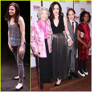 Mary-Louise Parker Gets Support From Family At Opening Night Of Broadway Play 'Heisenberg'!
