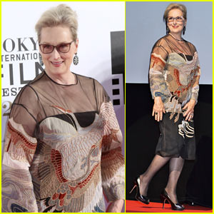 Meryl Streep Attends 'Florence Foster Jenkins' Premiere at Tokyo Film Festival!